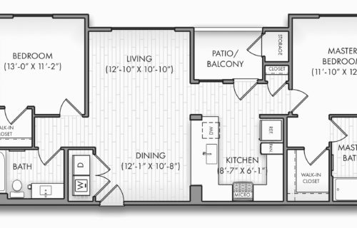 Take Comfort in a Two-Bedroom